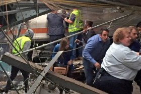 nypost.com Modal Trigger New Jersey Transit Commuter Train Crashes At Hoboken Terminal