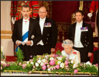 King of Spain given Extra Companion to the Order of the Garter...
