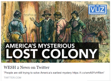 Lost Colony of the Outter Banks