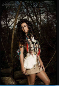 Miss Lumbee 2013.Pocahontas.1
