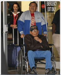 Phillip Coon, a 94-year-old World War II veteran, was a prisoner of war in Japan and survived the Bataan death march.