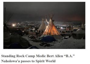 Standing Rock Medic