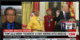 Native American Leaders Slam Trump For 'Culturally Insensitive' Pocahontas Remark HuffPost