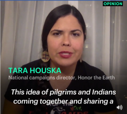 Tara Houska The Idea of Pilgrims and Indians...