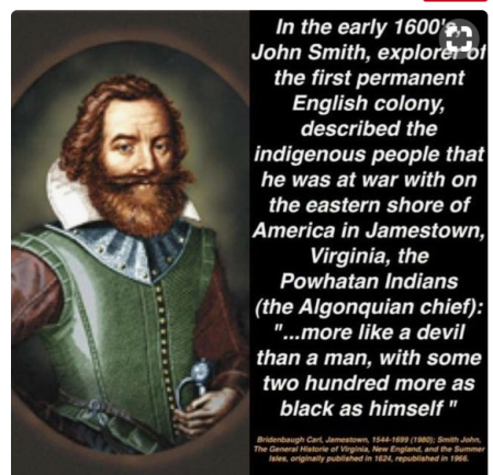 Lost Colony John Smith