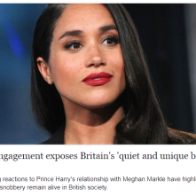 Meghan Markle Britians Chickens coming home to roost...