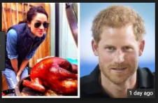 Meghan Markle was proposed to by Prince Harry over roast chicken