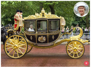 Queen Elizabeth's Historic New Carriage Incorporates 1,000 Years of British History