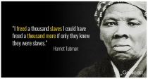 Hariet Tugman Freed Slavery