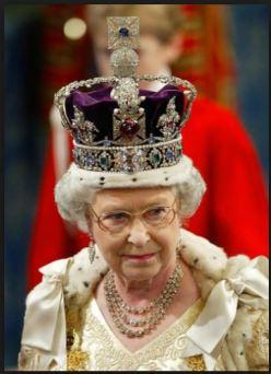 Queen Elizabeth English Crown