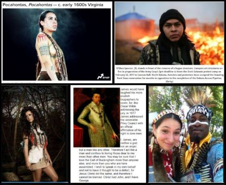 Pocahontas Standing Rock Lumbee