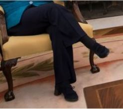 Angela Merkel No 'Royalty Heel Challenge' for me.1