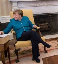 Angela Merkel No 'Royalty Heel Challenge' for me...