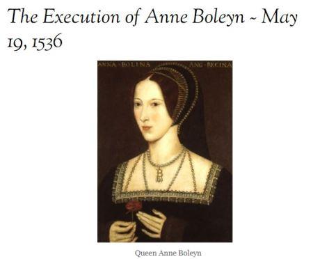 Anne Boleyn Herny VIII wife...