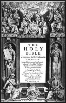 First King James Bible 1604 - 1611