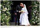 Meghan and Harry Wedding Kiss