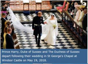 Meghan and Harry Wedding