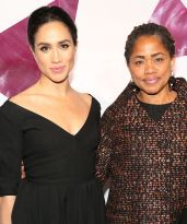 Meghan Markle's Mom Just Got To London To Meet The Queen+#refinery29