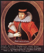Pocahontas 1617 in England.1