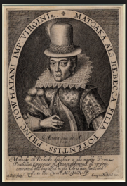 Pocahontas 1617 in England