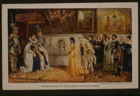 Pocahontas Baptism