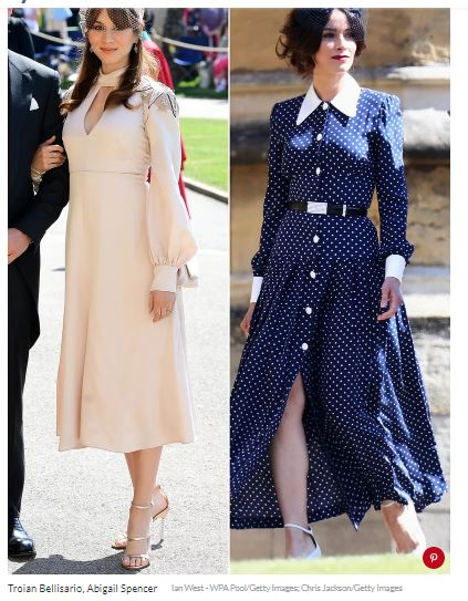 Troian Bellisario & Abigail Spencer Celebrate Meghan Markle Organizing Slippers for Wedding Guests