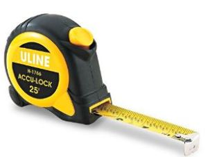 25 foot measuring tape