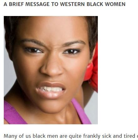 Black women slave