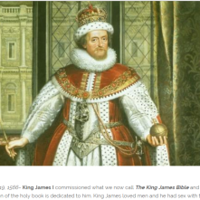 King James 1 crown