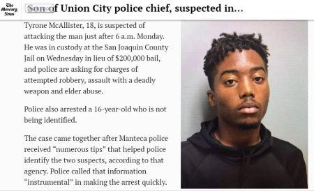 Chief McAllister Racist Son.2