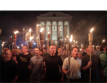 Torch carrying Racist