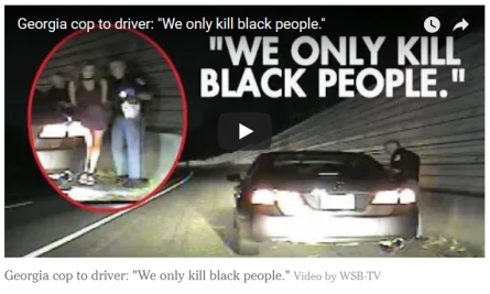 We only kill Black