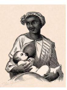 Black Slave woman at work.2