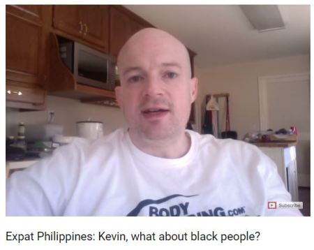 @KevinSanders Filipinos dont like black people