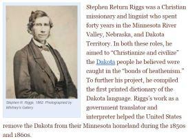 Stephen Return Riggs Book of Dakota