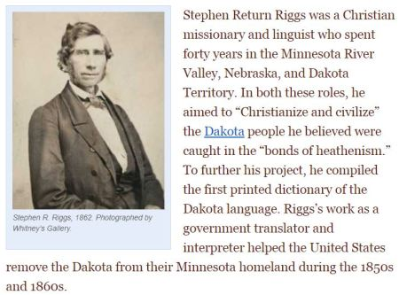 Stephen Return Riggs Book of Dakota