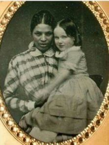 White men raping black women went on for centuries.This slave gave birth to her white slave owners child from rape, then to be talked to badly by her own child, not giving away that was