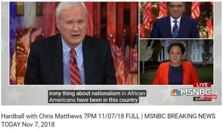 Chris Matthews said it best Black People have been on this continent longer than whites.3