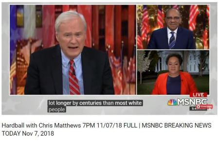 Chris Matthews said it best Black People have been on this continent longer than whites.4