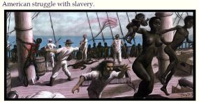 american struggle with slavery