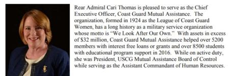 cari thomas coast guard mutual asssistance program