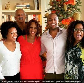 Stedman Graham Gayle King Oprah Winfrey Christmas
