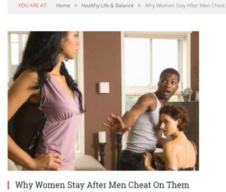Why Black women stay