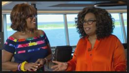 Oprah trying setting up Gayle