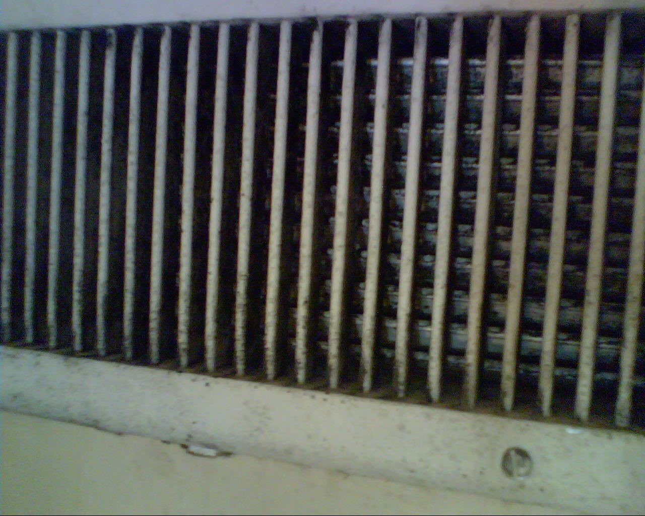1716323 Black Mold coming out of my HVAC vent