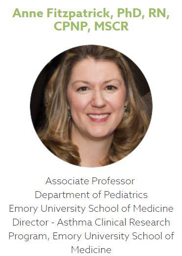 Anne Fitzpatrick, PhD, RN, CPNP, MSCR Mold Asthma