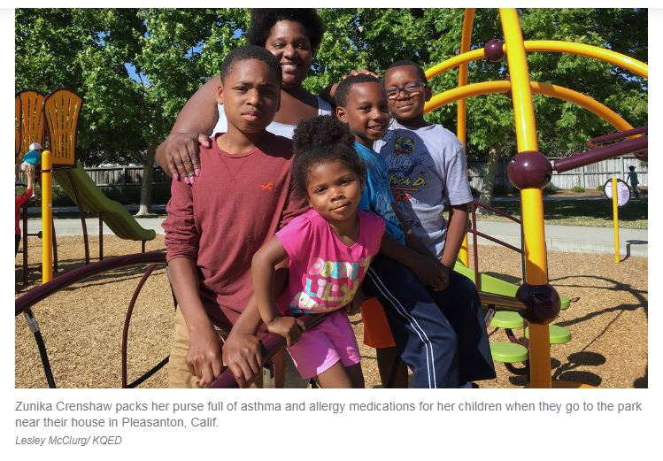 Black Children Black Toxic Mold Exposure death due to Asthma