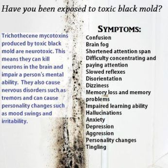 Black Toxic Mold Signs and Symptoms